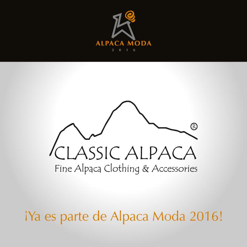Classic Alpaca Peru es Peru Moda 2016